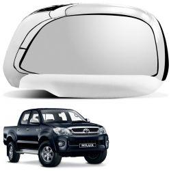 Aplique Retrovisor Toyota Hilux 2005 a 2011 Cromado LD