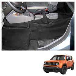 Capa Assoalho e Porta Malas Jeep Renegade 2015/2016 em Vinil Preto
