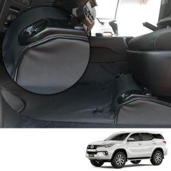 Capa de Assoalho em Vinil Preto Toyota Hilux SW4 2016 7 lugares