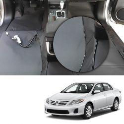 Capa de Assoalho Toyota Corolla 2008 a 2013 Em Vinil Grafite