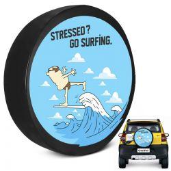 Capa de Estepe Crossfox 2005 a 2019 Go Surfing Com Cadeado