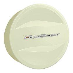 Capa de Estepe Ecosport 2003 a 2017 Com Cadeado Branco Vanilla