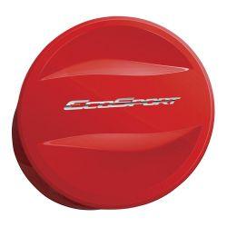Capa de Estepe Ecosport 2003 a 2017 Com Cadeado Vermelho Arpoador