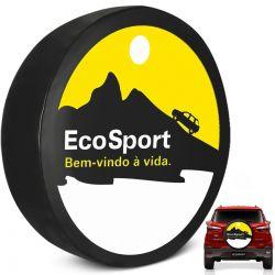 Capa de Estepe Ecosport 2003 a 2019 Cadeado Bem Vindo a Vida