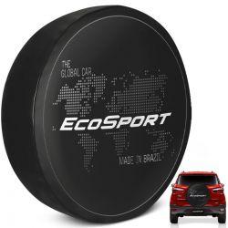 Capa de Estepe Ecosport 2003 a 2019 Global Car com Cadeado