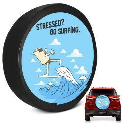 Capa de Estepe Ecosport 2003 a 2019 Go Surfing Com Cadeado