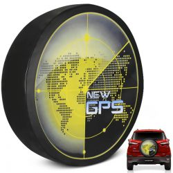 Capa de Estepe Ecosport 2003 a 2019 New GPS Com Cadeado