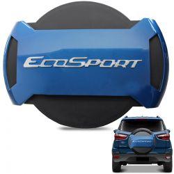 Capa De Estepe Ecosport 2013 a 2019 Antifurto Azul Belize