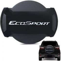 Capa De Estepe Ecosport 2013 a 2019 Antifurto Preto Bristol