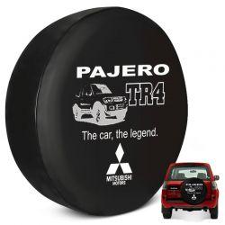 Capa Estepe Pajero TR4 2002 a 2015 Personalizada Cadeado