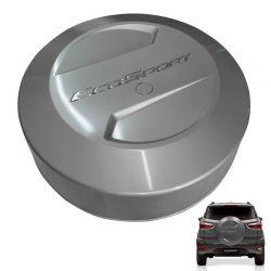 Capa De Estepe Ford Ecosport 2013 a 2017 Prata Dublin Bepo