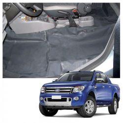 Capa Assoalho Ford Ranger CD 2012 a 2020 Vinil Grafite