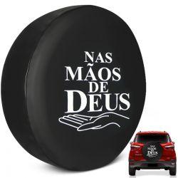 Capa Estepe Ecosport 2003 a 2019 Nas Mãos de Deus com Cadeado