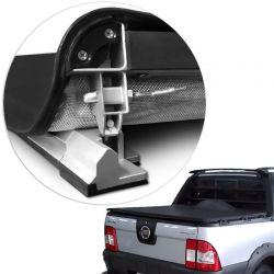 Capota Maritima Strada Cabine Estendida - Mod Trek Aluminio