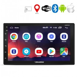 "Central Multimídia Roadstar RS-804BR Android 8.1 Tela 7"" Wi-fi GPS USB SD 2 Din 4x50 RMS"