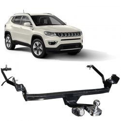 Engate Reboque Jeep Compass 2017 Fixo 700kg
