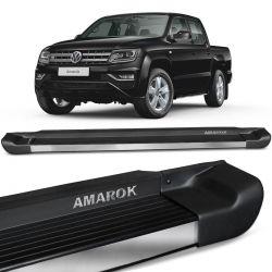 Estribo Lateral Amarok 2010 a 2020 Preto Fosco Personalizado