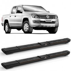 Estribo Lateral Amarok 2010 a 2020 Preto Keko My Road