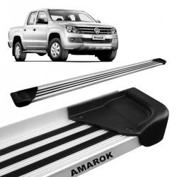 Estribo Lateral Amarok 2010 a 2021 CD Aluminio Natural A1