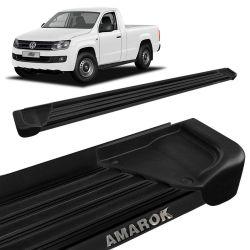 Estribo Lateral Amarok CS 2010 a 2019 Aluminio Preto A1