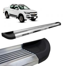Estribo Lateral Chevrolet S10 2012 a 2020 Aluminio G2 Bepo