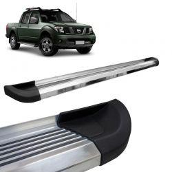 Estribo Lateral Nissan Frontier SEL Bepo G2 Aluminio Polido