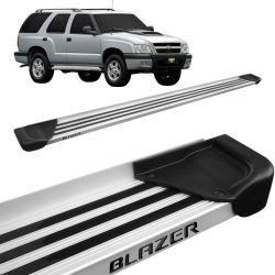 Estribo Lateral Blazer 1995 a 2011 Aluminio Natural A1