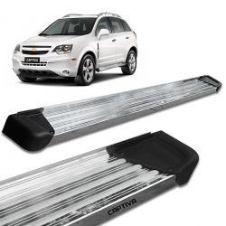 Estribo Lateral Captiva 2008 a 2018 Aluminio Polido A3