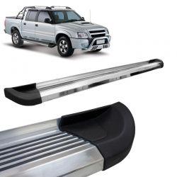 Estribo Lateral Chevrolet S10 1996 a 2011 Aluminio Polido G2 Bepo