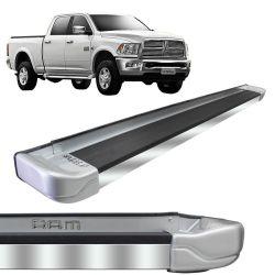 Estribo Lateral Dodge Ram 2012 a 2018 Grace Silver Stribus