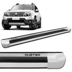 Estribo Lateral Duster 2012 a 2021 Alumínio Branco Personalizado