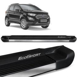Estribo Lateral Ecosport 2013 a 2020 Preto Fosco Personalizado