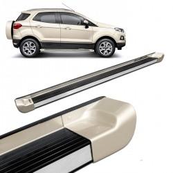 Estribo Lateral Ecosport 2013 a 2021 Alumínio Prata Riviera Personalizado