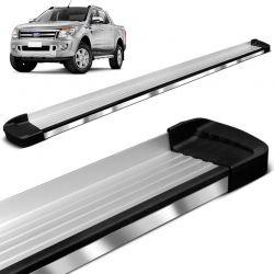 Estribo Lateral Ford Ranger 2013 a 2018 Alumínio Bepo