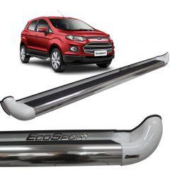 Estribo Lateral Ford Ecosport 2013 a 2018 Branco Artico Personal