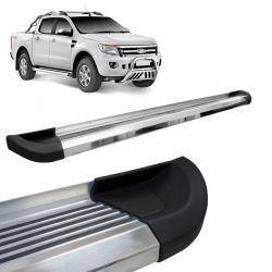 Estribo Lateral Ford Ranger 2013 a 2018 Aluminio Polido Bepo