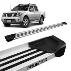 Estribo Lateral Frontier 2008 a 2016 Aluminio Natural A1