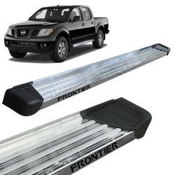 Estribo Lateral Frontier 2008 a 2016 Aluminio Polido A3