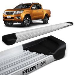Estribo Lateral Frontier 2017 a 2019 Aluminio Natural A3