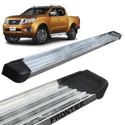 Estribo Lateral Frontier 2017 a 2020 Aluminio Polido A3