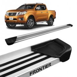 Estribo Lateral Frontier 2017 a 2020 Aluminio Natural A1
