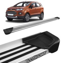 Estribo Lateral Ecosport 2013 a 2018 Aluminio Natural A1
