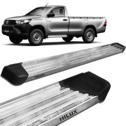 Estribo Lateral Hilux CS 2016 a 2020 Aluminio Polido A3