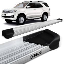 Estribo Lateral Hilux Sw4 2005 a 2015 Aluminio Natural A3