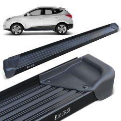 Estribo Lateral IX35 2011 a 2019 Aluminio Preto A3