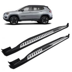 Estribo Lateral Jeep Compass 2017 a 2019 Modelo Original