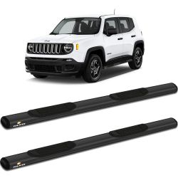 Estribo Lateral Jeep Renegade 2015 a 2019 Oblongo Grafite Keko K1
