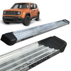 Estribo Lateral Jeep Renegade 2016 a 2019 Aluminio Polido A3
