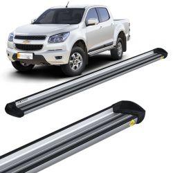 Estribo Lateral S10 CD 2012 a 2018 Aluminio Prata Keko K1