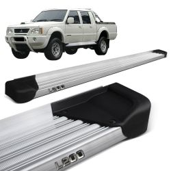 Estribo Lateral L200 Gl GLS 1999 a 2003 Aluminio Natural A3